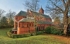 Romanesque church in Petersham, England converted to family home