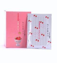 My Beauty Diary Strawberry Yogurt Rejuvenating Masks (Facial Rejuvination - Box of 10)