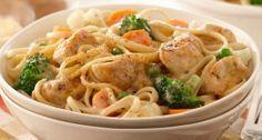 Yummy Recipes: Creamy Mediterranean Chicken Pasta Recipe