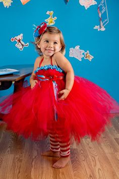 dr suess dress cat in the hat party ideas   Cat in the Hat tutu dressDr suess tutu dressCat by GlitterMeBaby, $55.00