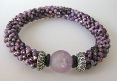 bracelet, tags, bsue, beadcrochet, crochet rope, seeds, bead crochet, seed beads, beaded jewelry