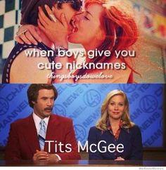When boys give you cute nicknames