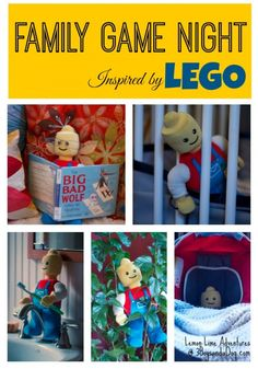 Family Game Night inspired by LEGO Easy to plan hide and seek using a kid favorite! #lego #familygamenight
