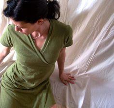 Organic cotton & hemp dress