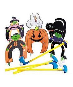 Halloween Golf Set game