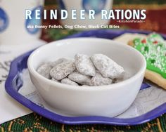 Reindeer Rations (or Bunny Pellets, Dog Chow, you pick the name) are easy to make and fun for kids.