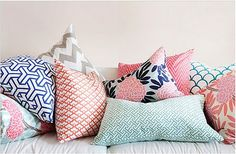 caitlin wilson textiles. Color pallet for living room pillows