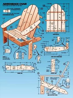 Simple Upcycled Pallet Adirondack Chair Instructions | 99 Pallets