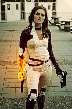 Mass Effect 2 Cosplay - not sure, just like this pic