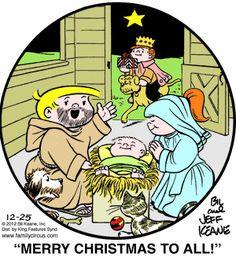 Family Circus Cartoon for Dec/25/2012