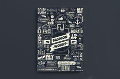 Fashion Works by Fabian De Lange, via Behance