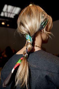 Pretty 'Riviera' ponytail. #laofoye #homemadehaircare #singapore #toptips #haircare