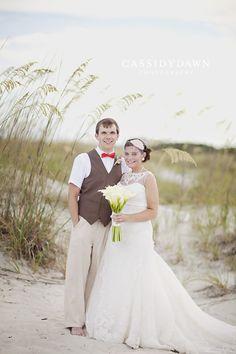 hilton head island beach wedding - cassidy dawn photography