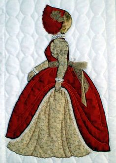 Love all the Bonnet Girl patterns except Civil War