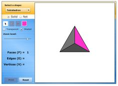 Geometric Solids: This tool allows you to learn about various geometric solids and their properties.