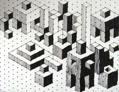 Art Sub Lessons: Grids and Blocks