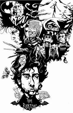 Tim Burton <3
