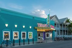 Spend a night at the Tropic Cinema in Key West, #Florida.
