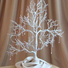 Silver Christmas Tree with Christmas