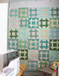 Diary of a Quilter - a quilt blog: Great Granny and Churn Dash Quilt Alongs
