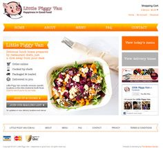 Little Piggy Van ecommerce website - www.littlepiggyvan.com.au
