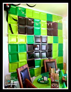 Minecraft Party Ideas (Click Image for a ton of ideas!) Great party idea for the computer lab!