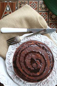Cypriot carob cake.