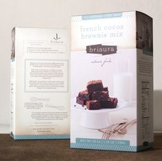 briaura artisan foods packaging by Funnel: The Fine Commercial Art Practice of Eric Kass