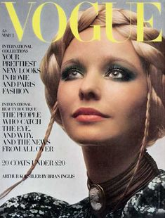maudie james, 1970 vogue cover
