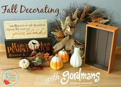 Fall Decorating with Gordmans! (Plus Enter to Win a $25 Gordmans Gift Card!)
