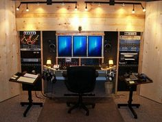 in home recording studio