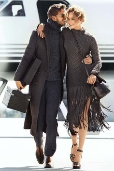 The Michael Kors Fall 2014 ad campaign. [Photo Courtesy of Michael Kors by Mario Testino]