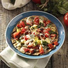 Grilled Veggie Tortillas