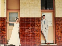 My beautiful friend, Marisa and her hubs on her Australian wedding day!