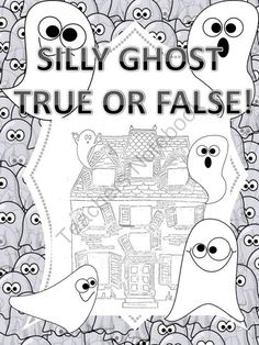 Silly Ghost True or False Column Addition from Donna-Thompson on TeachersNotebook.com -  (14 pages)  -  Common Core 3.NBT.2 and 4.NBT.4 This product contains twenty-eight silly ghost task cards, which allows students to practice column addition using make belief application. Students must add three num