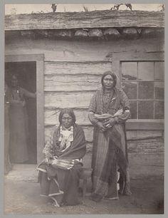 Little Bear, Shield (the sons of Little Raven) - Arapaho - 1867