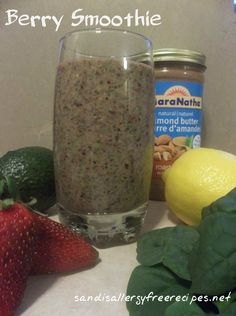 Berry Smoothie (Dairy Free/ Refined Sugar Free)