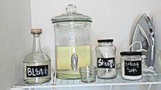 beverage dispenser for laundry soap