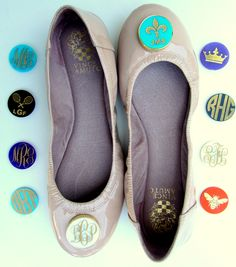 Personalized Ballet flats from  www.swagstamp.com