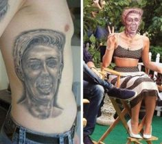 tattoo, Miley Cyrus, Nailed it