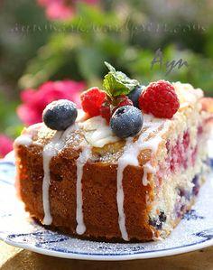 Summer cake #Berries