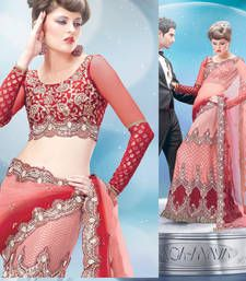 ~: ENGAGEMENT COLLECTION :~ wedding-saree @ www.mirraw.com lehenga sare, design sare, indian attir, indian bollywood, designer sarees, bollywood design, minut sare, embroid lehenga, lehenga style