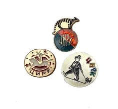 Soviet Vintage Circus Pins