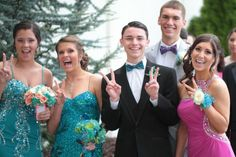 And the first #prom of the week winner is...
