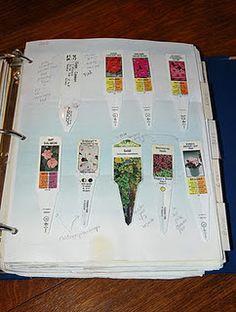 garden journal- good idea