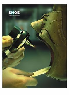 Shoe, the shoe hospital - Doctor #Advertising #Print #Commercial