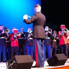 "Instagram - ""Combined trombones nailing The Stars & Stripes Forever.""  via Ambassador Huebner"
