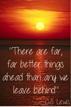 Better Things Ahead!