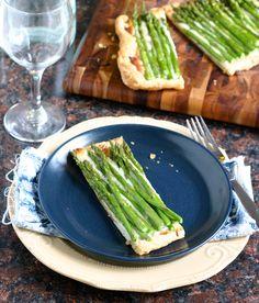 Easter Brunch Recipe: Asparagus Tart