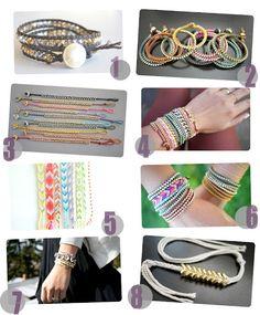 How to bracelet tutorials